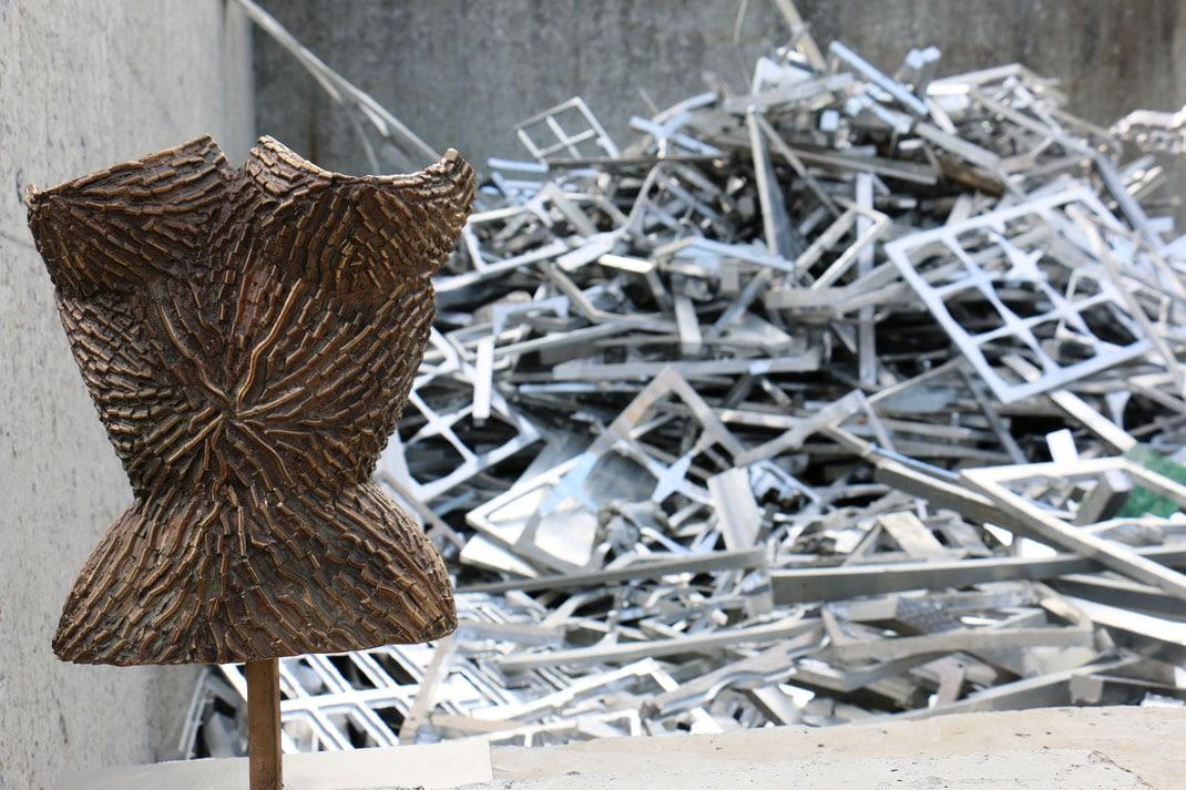 Le bronze et la féminité à l'honneur à Toulouse avec les sculptures de Corinne Brezc